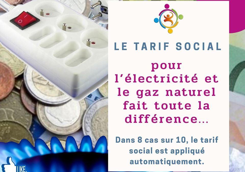 Le tarif social pour l'électricité et le gaz naturel fait toute la différence
