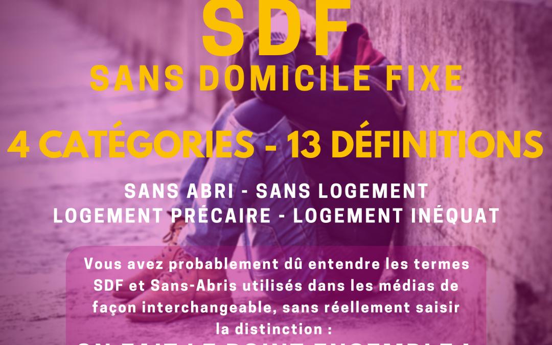 Stop aux finasseries Sans Abris / Sans Domicile FIXE