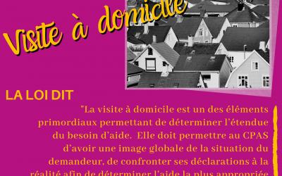 """Voilà qui est clair !  """"Visites à Domiciles"""""""